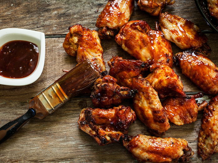 Thai Barbecue Chicken Wings