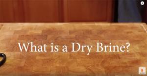 dry brine