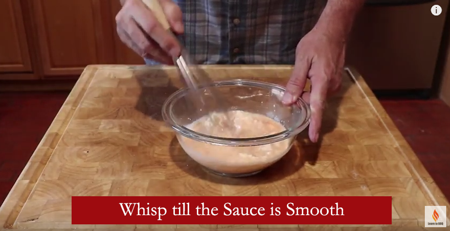 whisp sause till smooth