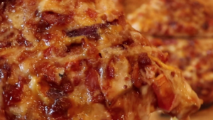 pizza closeup