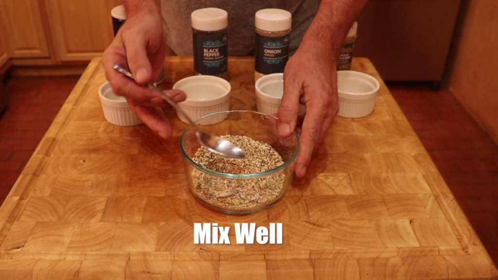 mix well