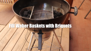 Weber Baskets with Briquets